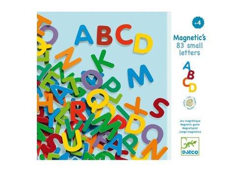 Djeco Magnetic's / 83 petites lettres magnétiques