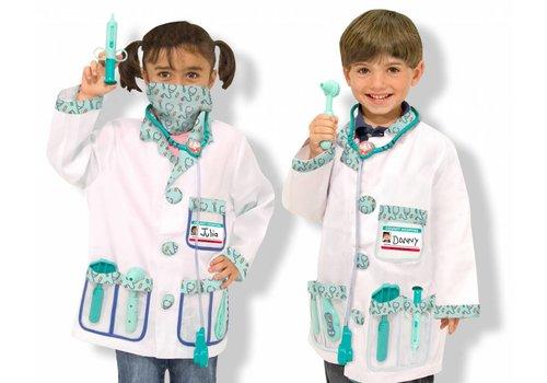 Melissa & Doug Costume de médecin 3-6 ans