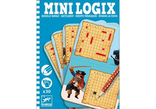 Djeco Mini logix / Bataille navale