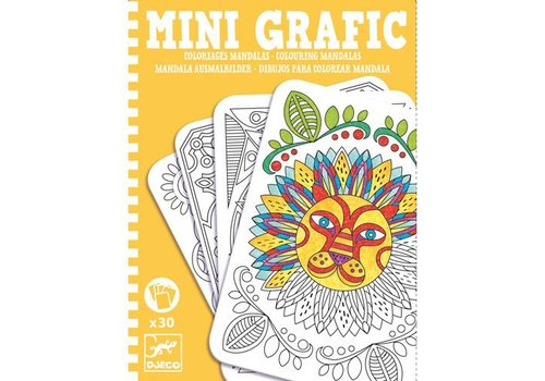 Djeco Mini grafic / Coloriages mandala
