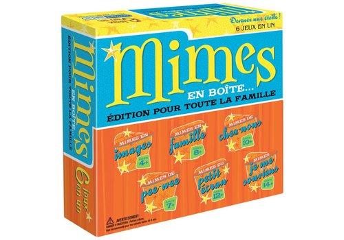 Mimes en boites
