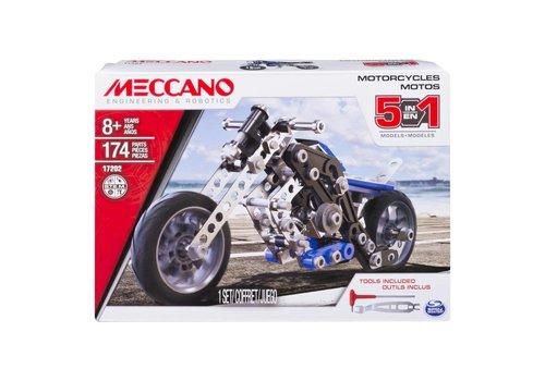 Meccano Ens. 5 modèles- Moto