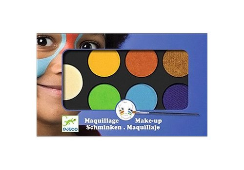 Djeco Maquillage / Palette 6 couleurs / Nature