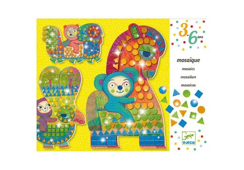 Djeco Mosaiques / A califourchon