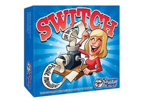 Switch boîte bleue