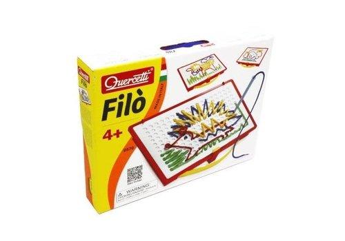 Quercetti FILO : Ensemble de dessins avec lacets