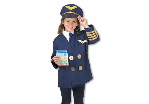 Melissa & Doug Costume de pilote d'avion