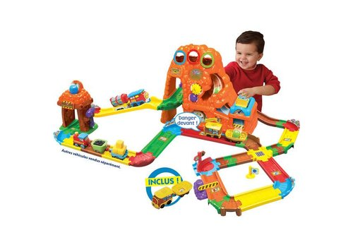 Go! Go! Smart Wheels® Circuit train Canyon Express + Earnest. le train du Far West