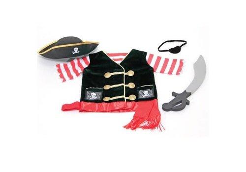 Melissa & Doug Costume de Pirate 4-8 ans