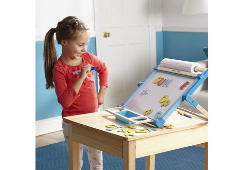 Melissa & Doug Wooden Double Sided Tabletop
