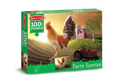 Melissa & Doug Sunrise Farm Cardboard