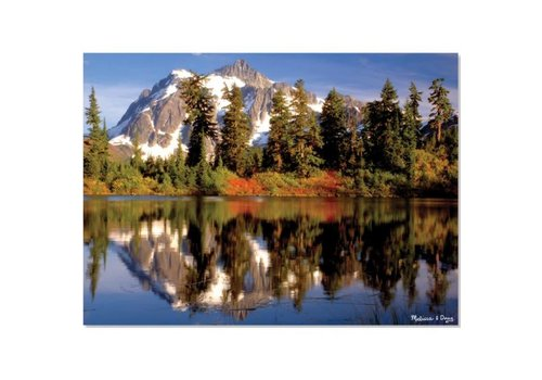 Melissa & Doug Mountain Reflection Cardboard