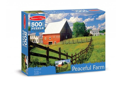 Melissa & Doug Peaceful Farm Cardboard