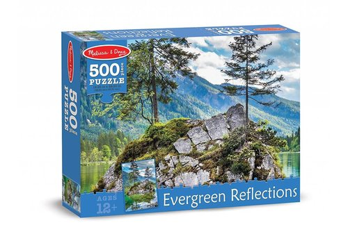 Melissa & Doug Evergreen Reflections Cardboard