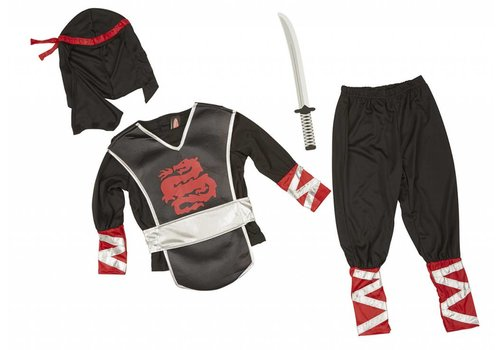Melissa & Doug Costume de Ninja 3-6 ans