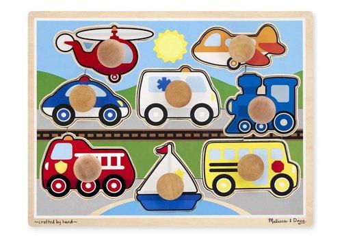 Melissa & Doug Vehicles Jumbo Puzzle
