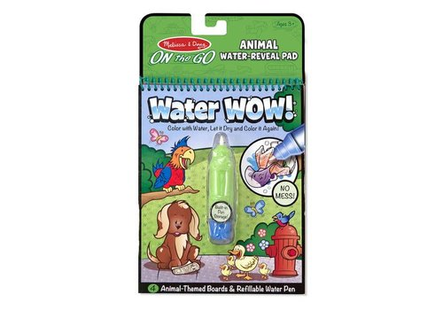 Melissa & Doug Water wow ! Animaux