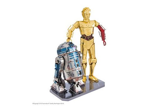 Boîte cadeau Star Wars, R2D2 & C3PO
