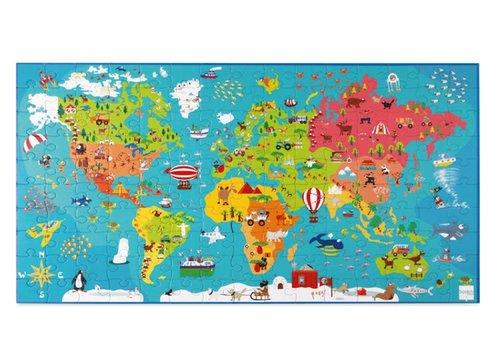 Carte du monde XXL