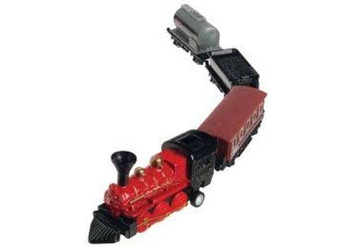 Mini Pull Back Train Set