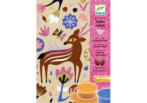 Djeco Sable colorés / Merveilles des bois