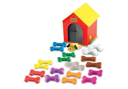 Learning Resources Set d'apprentissage tactile La maison de Ruff