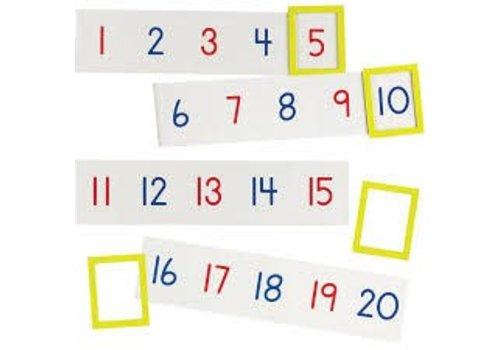 Learning Resources Ligne de nombres magnétiques 1 à 100