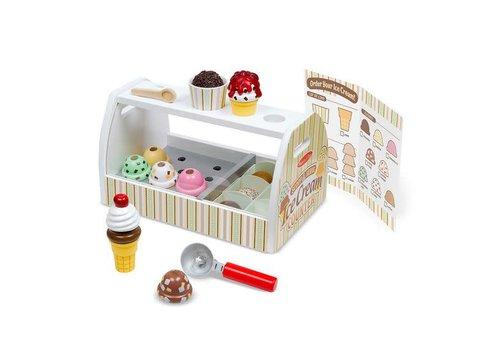 Melissa & Doug Comptoir à crème glacée - Scoop & Serve Ice Cream Counter