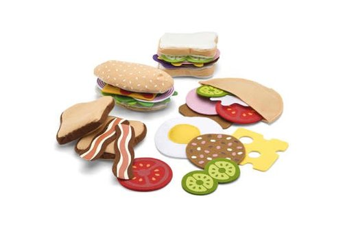 Melissa & Doug Sandwich Set
