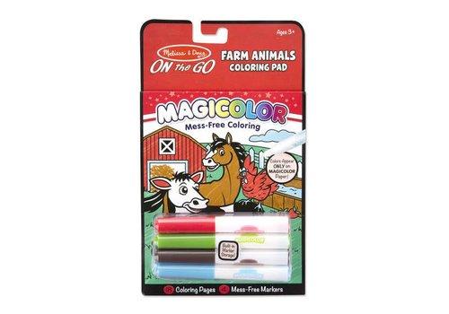Melissa & Doug Magicolor Animaux de la ferme