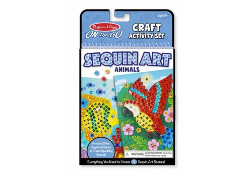 Melissa & Doug Copy of Sequin Scenes Activity Set - Mermaids
