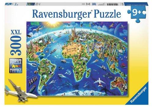 Ravensburger Carte des monuments du monde