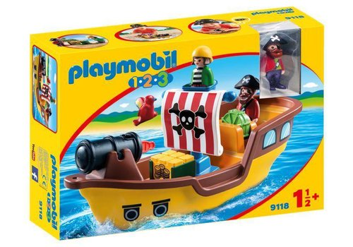 Playmobil Bâteau de pirates