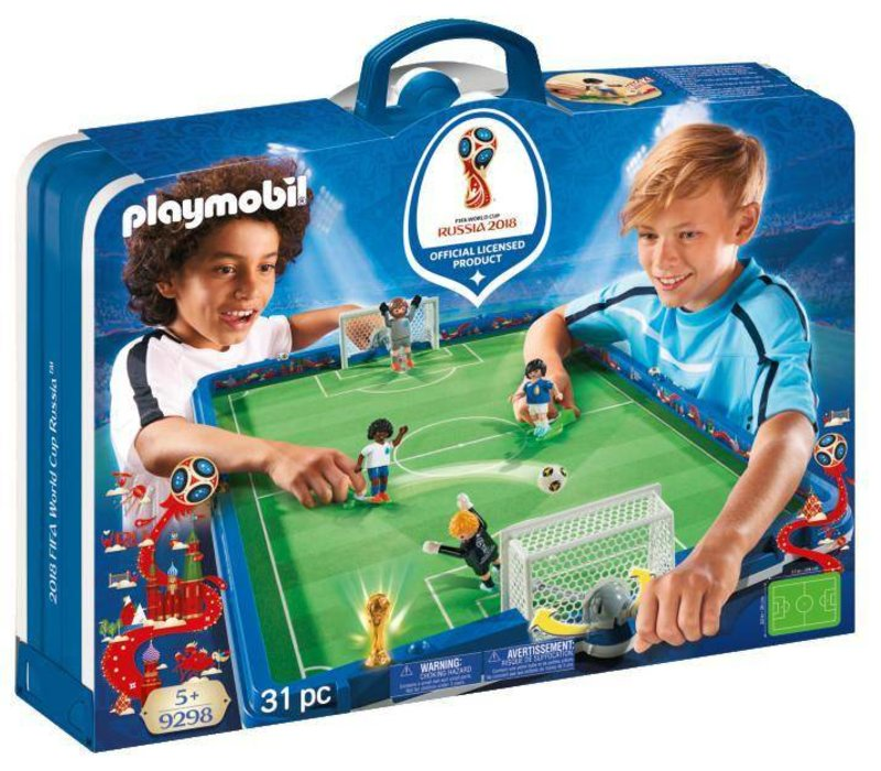 Coupe Du Monde 2018 Football Fifa Russie: Playmobil Stade De Soccer FIFA Coupe Du Monde Russie 2018