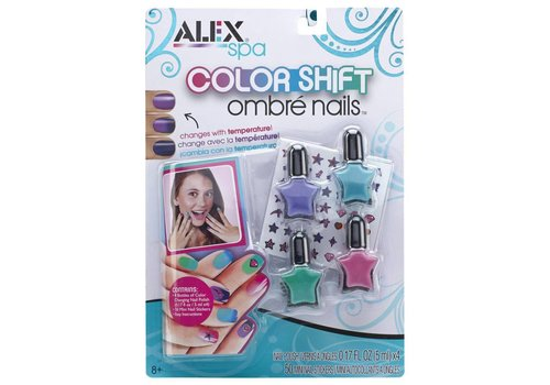 Color Shift Ombre Nails