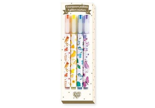 Lovely Paper Marqueurs pailletes / Tinou
