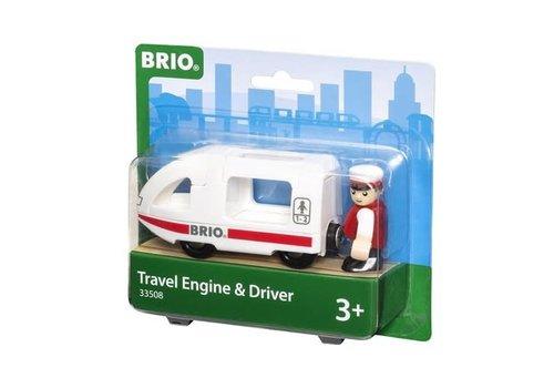 Brio Locomotive voyageur avec conducteur