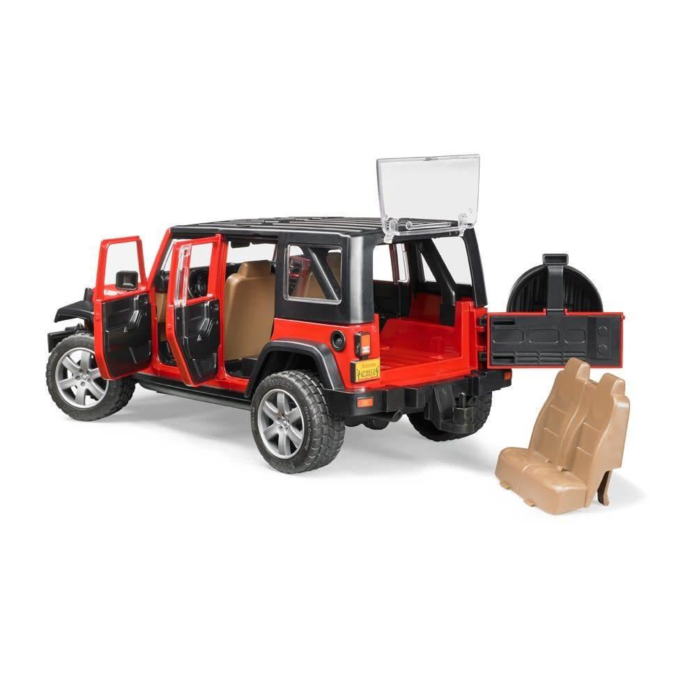 bruder jeep wrangler unlimited rubicon le coffret jouets. Black Bedroom Furniture Sets. Home Design Ideas