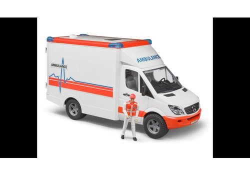 Bruder MS sprinter ambulance with driver