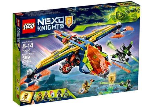 Lego Nexo Knights L'avion-arbalète d'Aaron