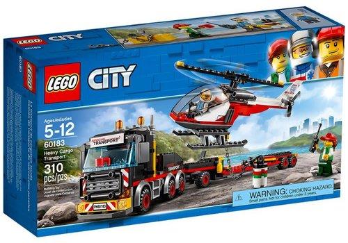 Lego City Le transporteur d'hélicoptère
