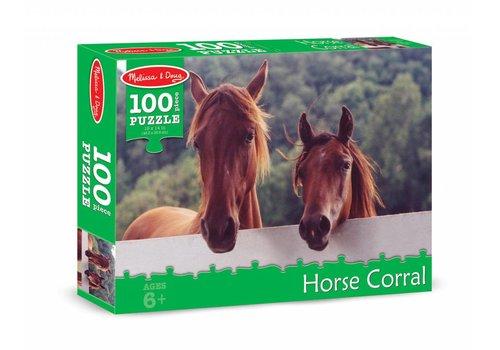 Melissa & Doug Horse Corral Cardboard