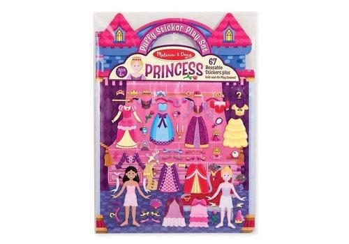 Melissa & Doug Reusable Puffy Sticker - Princess