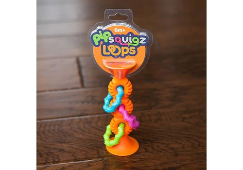 Fat Brain Toy Co. PipSquigz Loops orange