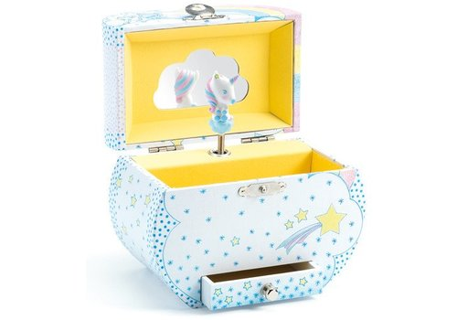 Djeco Music box / Unicorns dream