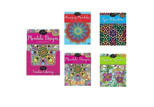 Timeless Creations Adult Colouring Book DB 12pcs