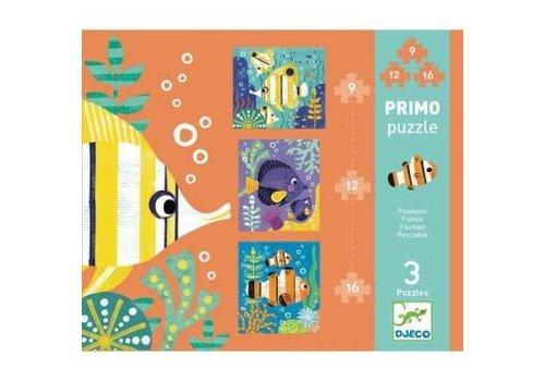 Djeco Primo Puzzle / Poissons