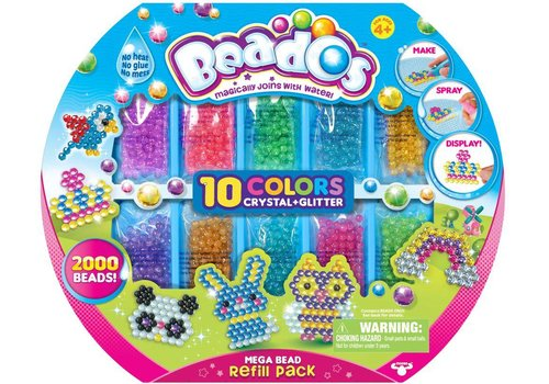Beados refil pack glitter and crystals
