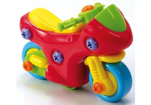 Playgo Build-it Course et moto
