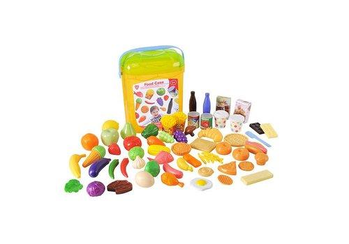 Playgo-Nourriture en mallette 51 pcs